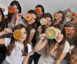 candy, girls, and party image