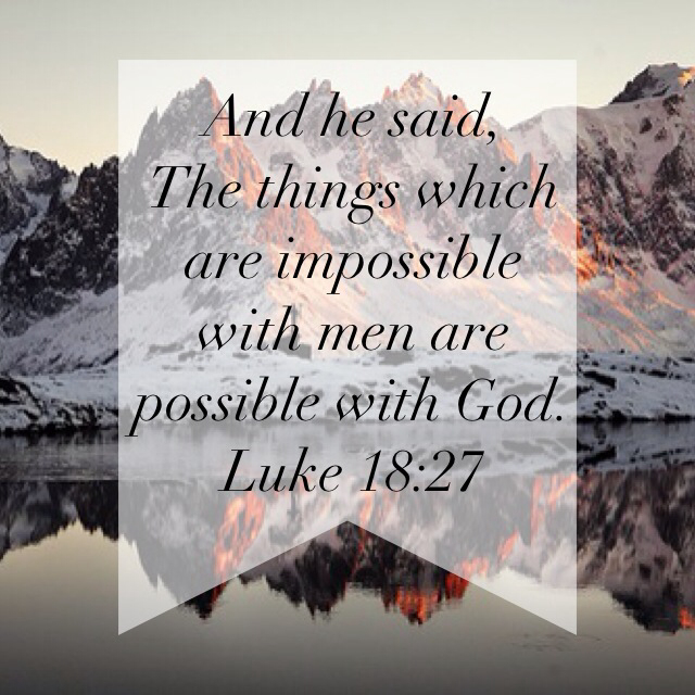 bible verse with man this is impossible