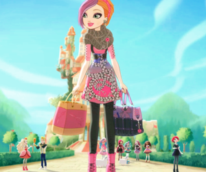 eah, ever after high, and poppy o'hair image