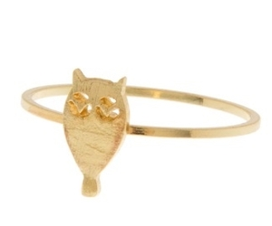 jewelry, rings, and owl ring image