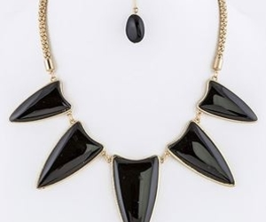 necklaces, collar necklace, and cute jewelry image