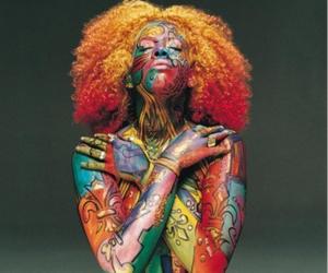 art, naturalhair, and natural hair image