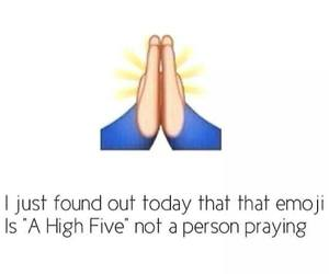 emoji, funny, and high five image