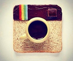 instagram, coffee, and food image