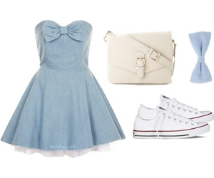 dress, wear, and cute image