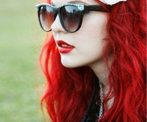 hair, want it, and red image