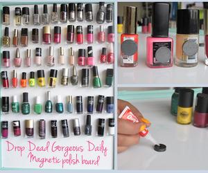 diy, nails, and nail polish image