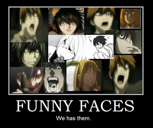 death note, L, and light yagami image