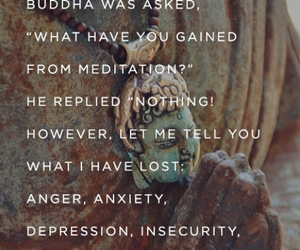 Buddha, quotes, and meditation image