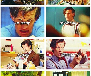 doctor who, matt smith, and 11th doctor image