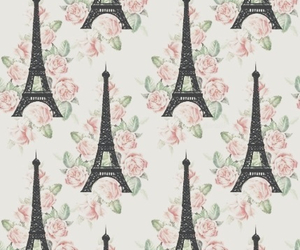 background, eiffel, and tower image