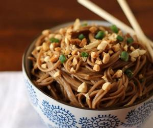 asian, soba, and noodles image