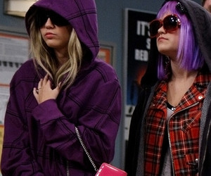 miley cyrus and lilly truscott image