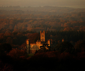 article, downton abbey, and highclere castle image