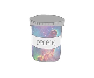 Dream, overlay, and galaxy image