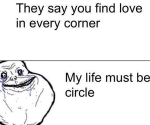 love, funny, and circle image