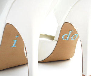 wedding, shoes, and I DO image
