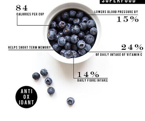 blueberry, healthy, and food image