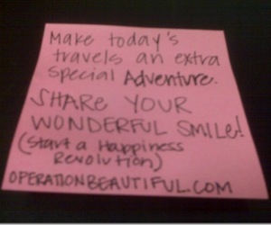 happiness, inspiration, and note image