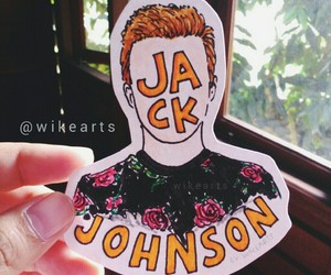 art, cartoon, and jackjohnson image
