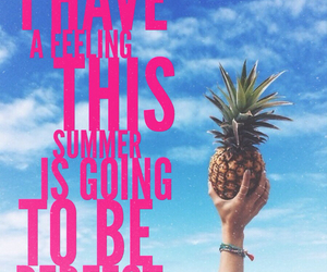 hipster, pineapple, and summer image
