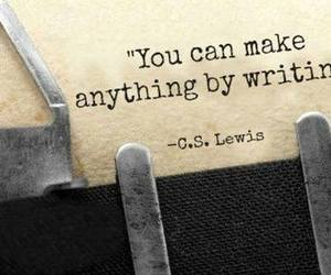 c.s. lewis, quotes, and write image