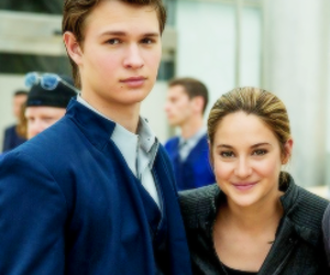 divergent, caleb, and Shailene Woodley image