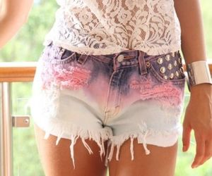 shorts, clothes, and pink image