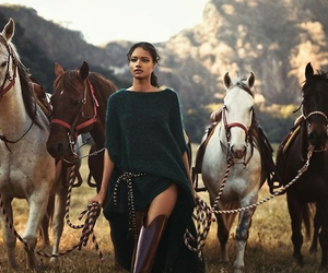 american indian, beauty, and fashion image