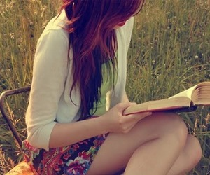nature, read, and lily evans image
