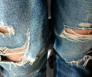 boyfriend jeans, fashion, and me image