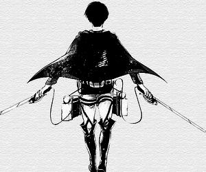 levi, shingeki no kyojin, and attack on titan image