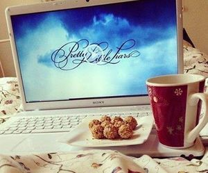 pretty little liars, pll, and food image