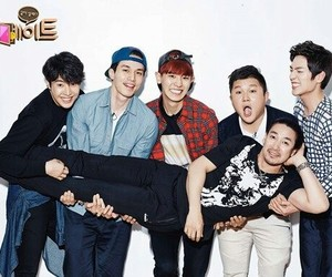 reality show, roommate, and korean show image