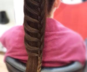beautiful, braid, and cool image