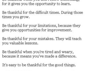 text and thankful image