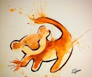 art, simba, and the lion king image