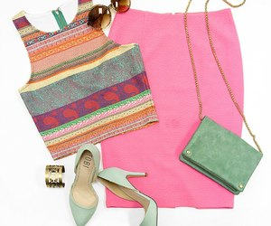 design, outfit, and pink image