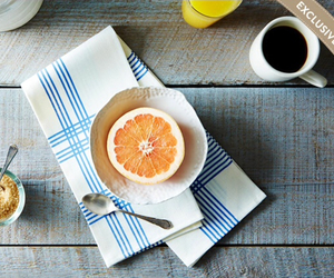 breakfast, orange, and vintage image