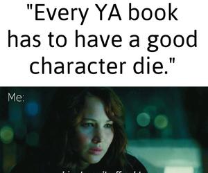 books, harry potter, and Jennifer Lawrence image