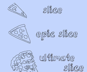 pizza, food, and slice image