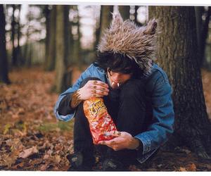 boy and Cheetos image