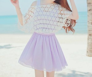 kfashion, summer, and dress image