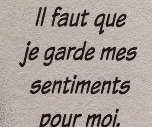 amour, francais, and quote image