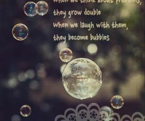 bubble, different, and quote image