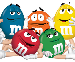 famille, sweet, and m&m's image