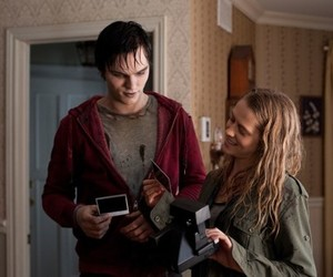 warm bodies, teresa palmer, and nicholas hoult image