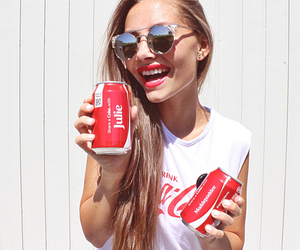 beautiful, cocacola, and hair image
