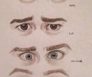 5sos, eyes, and 5 seconds of summer image