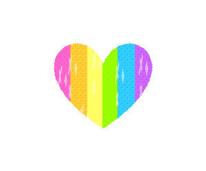 colors, funny, and heart image